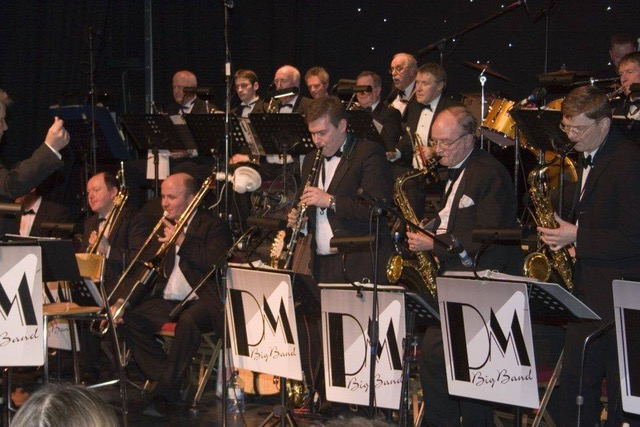 The PM Big Band at the Belvoir Studio Theatre