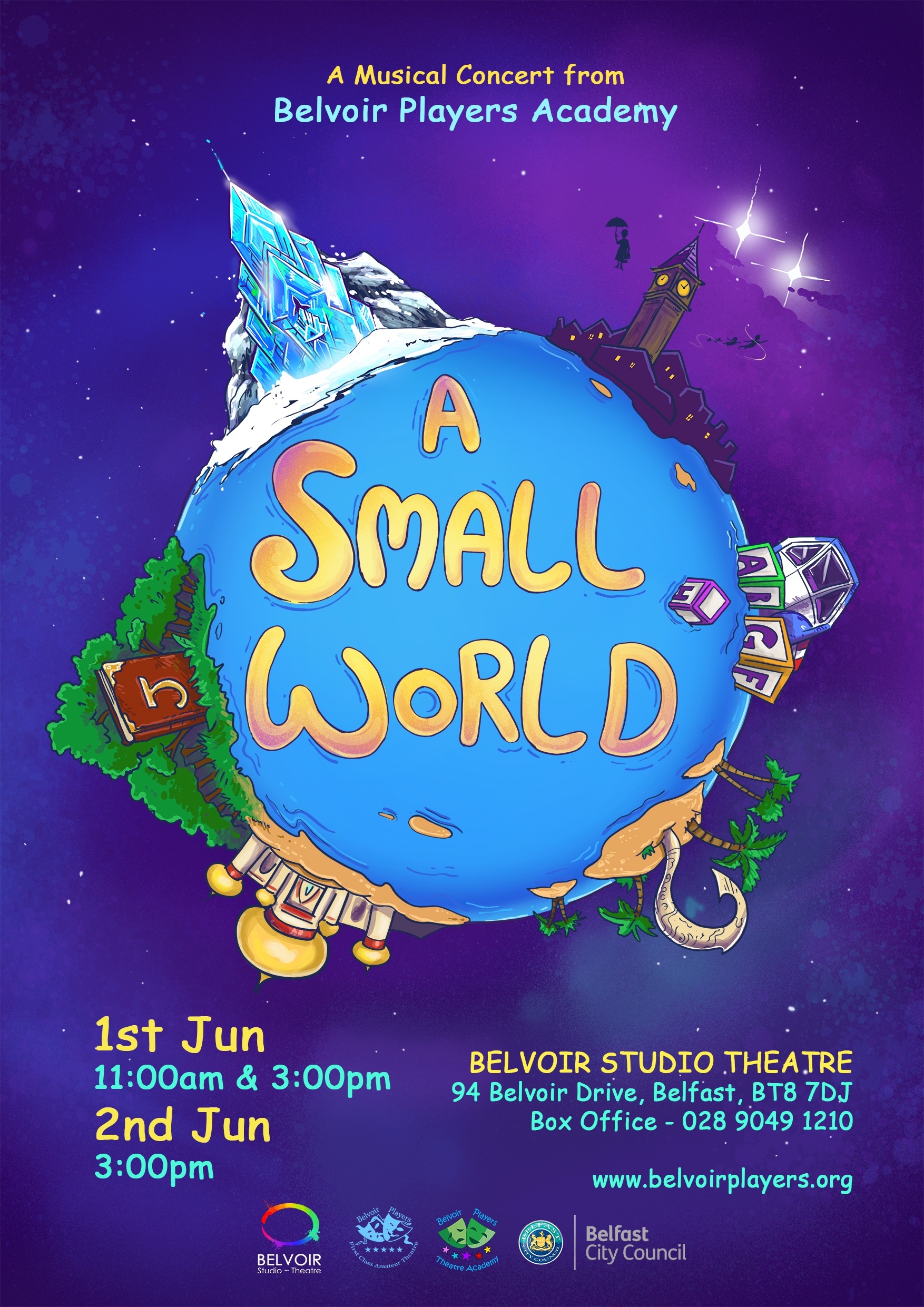 A Small World poster small