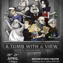A tomb with a view poster small