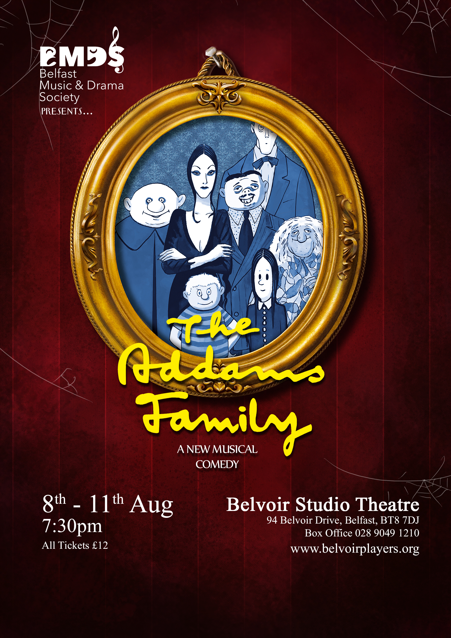 Addams Family Poster small
