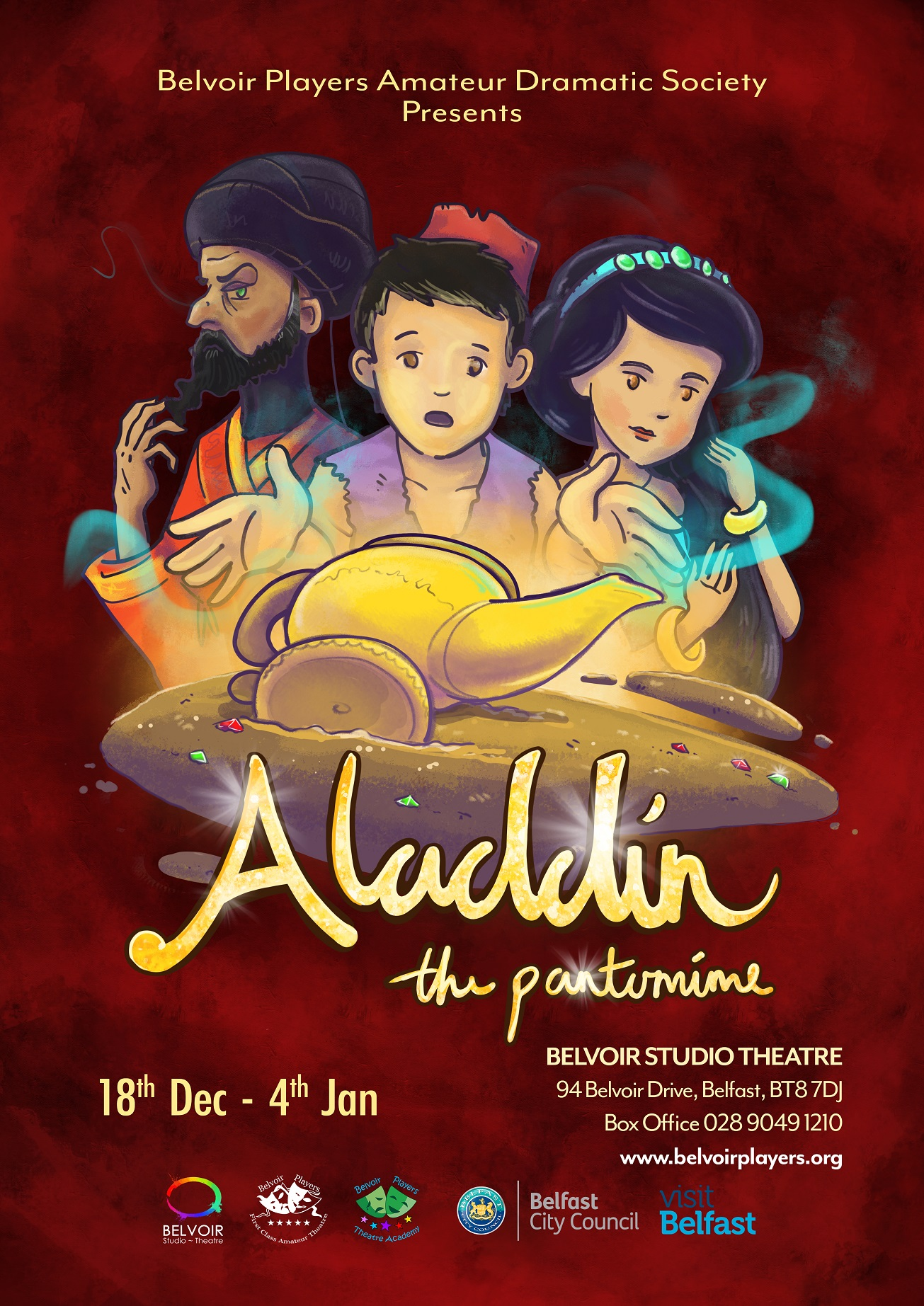 Aladdin - Belvoir Players Panto 2019!
