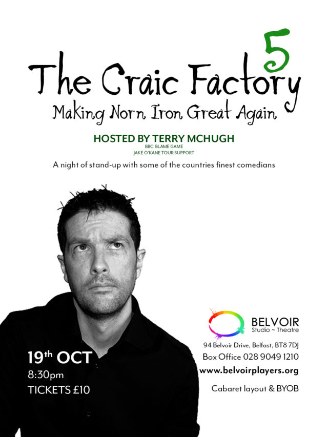 The Craic Factory 5 hosted by Terry McHugh