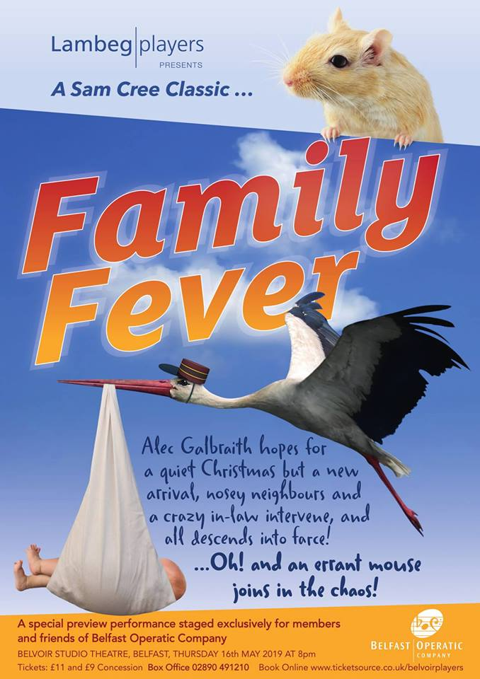 Belfast Operatic Company with Family Fever By Sam Cree
