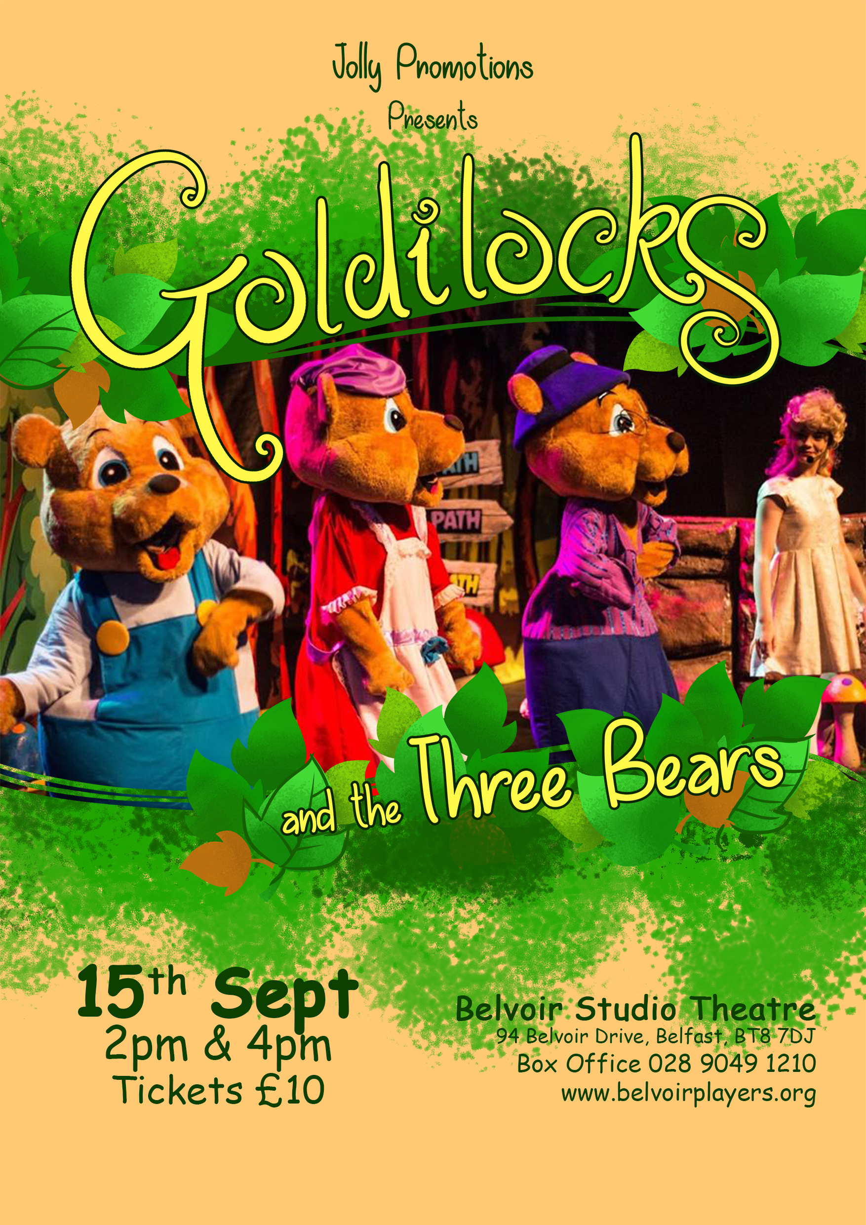 Goldilocks poster small