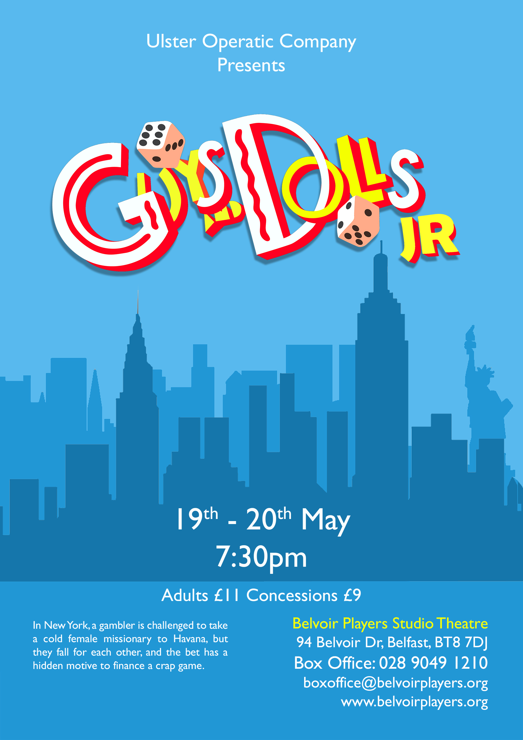 Guys and Dolls Jr small
