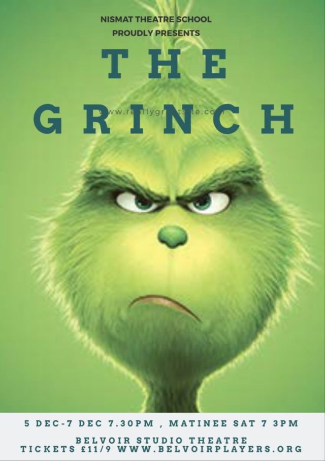 The Grinch. A christmas story from NISMAT.