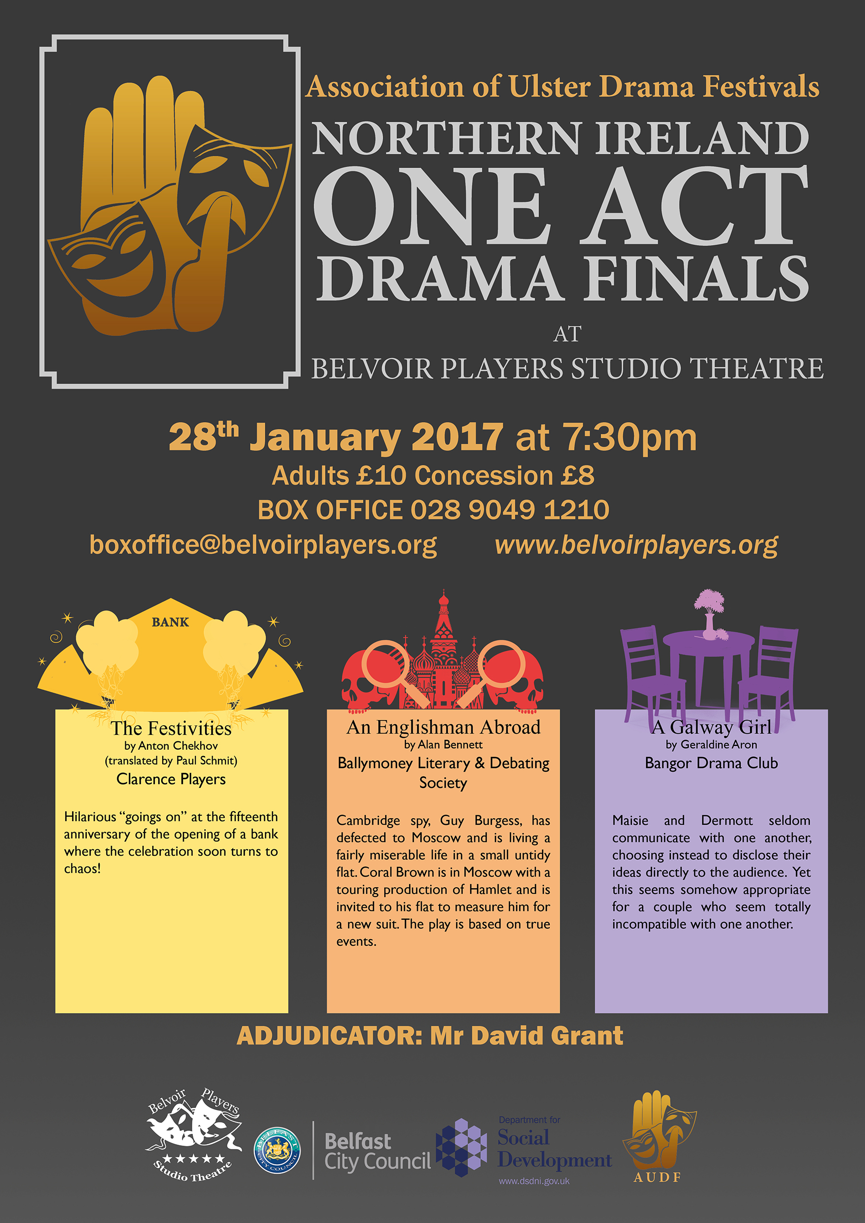 One Act Poster A3 2017 small