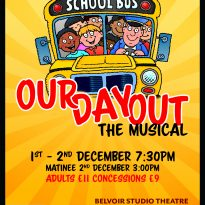 Our day out poster small