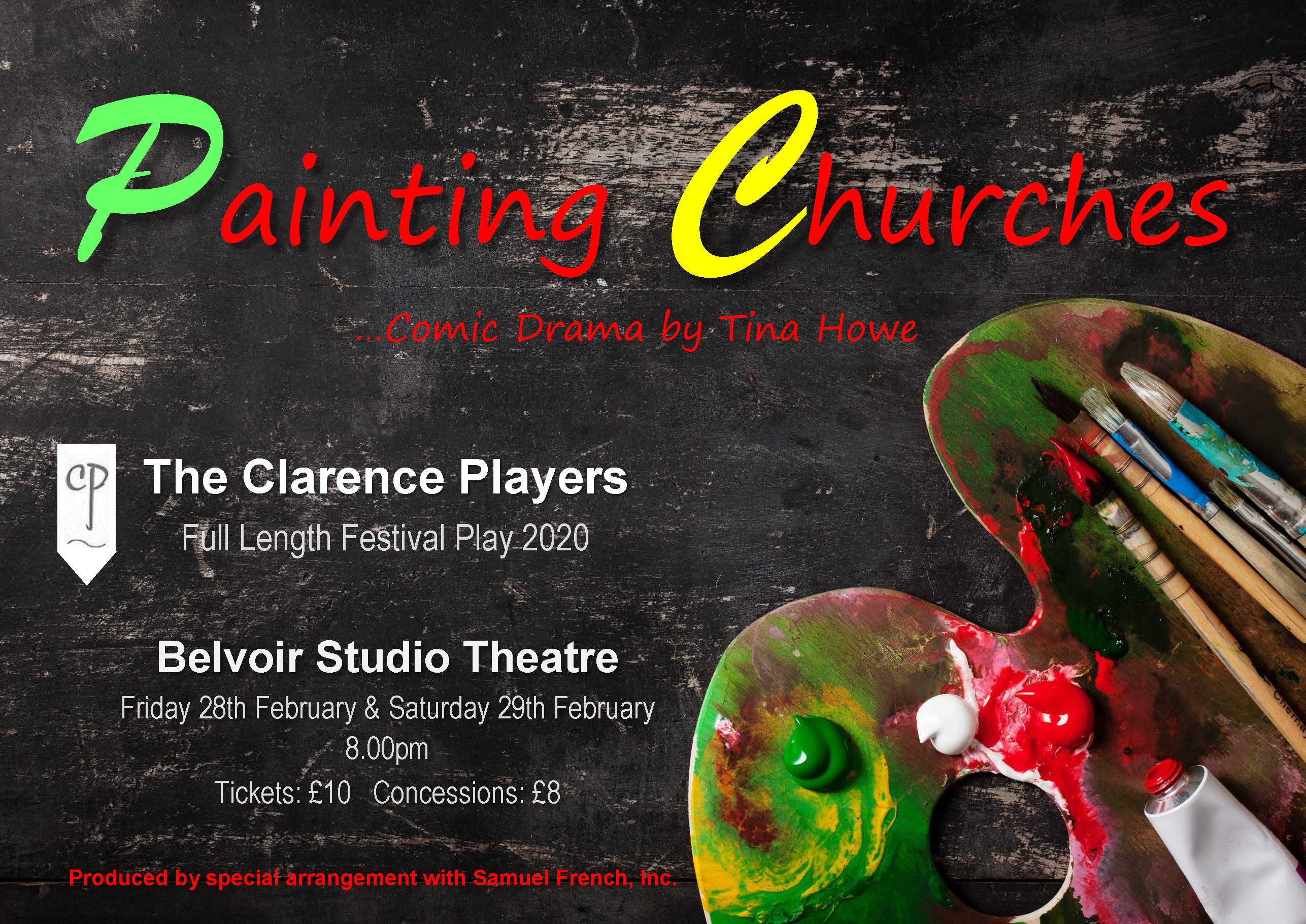 Clarence Players present Painting Churches by Tina Howe