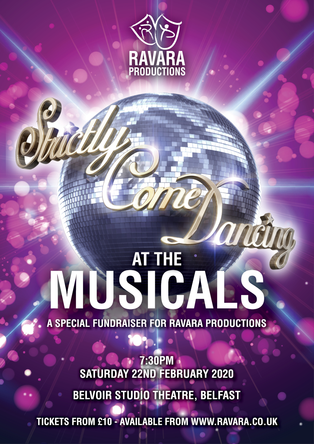 Ravara Productions present Strictly Come Dancing at the Musicals!