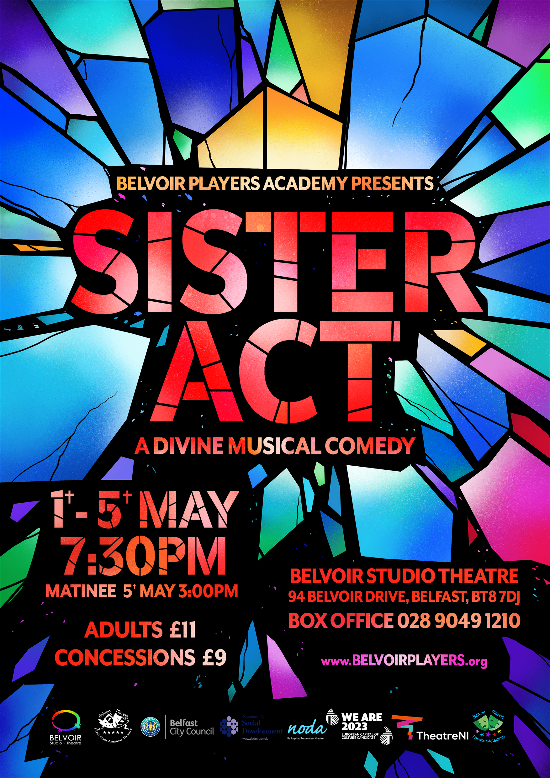 Sister Act poster small