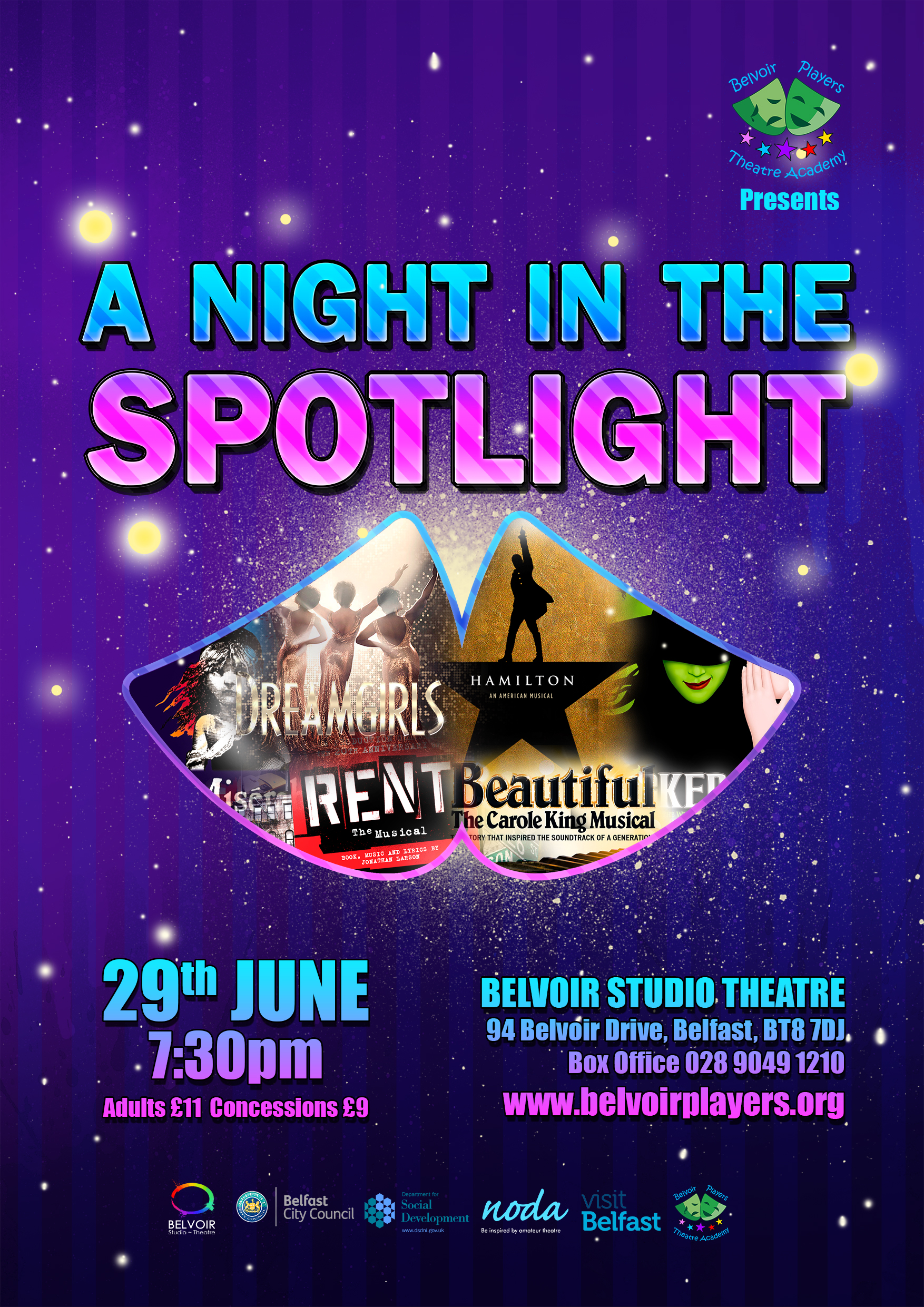 night in the Spotlight poster 2018 small