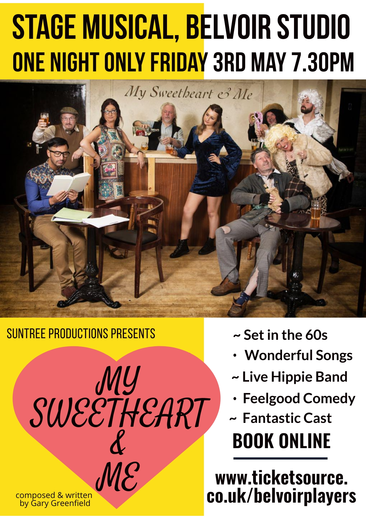 My Sweetheart & Me. A light-hearted, nostalgic musical.